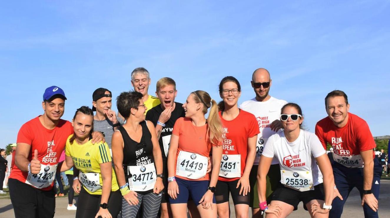 2018 Berlin Marathon Gruppenbild
